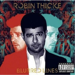 Album : Blurred Lines [2013] album cover